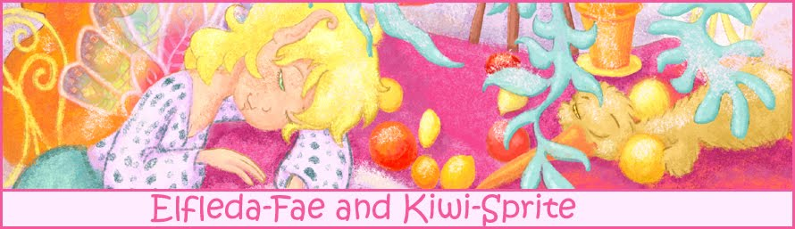Elfleda-Fae and Kiwi-Sprite