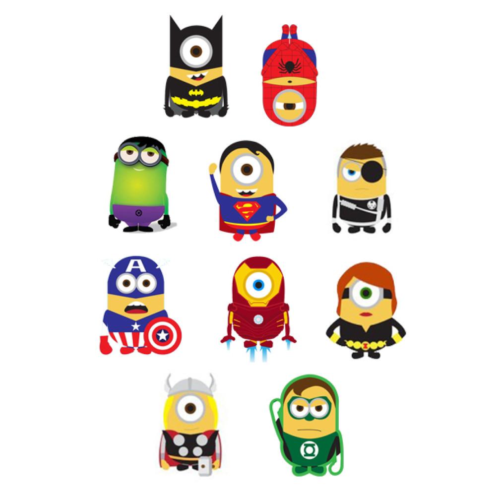Superheros Friends Foes Minion Superheroes