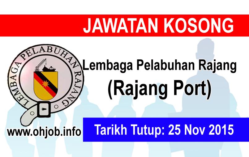 Jawatan Kerja Kosong Lembaga Pelabuhan Rajang logo www.ohjob.info november 2015