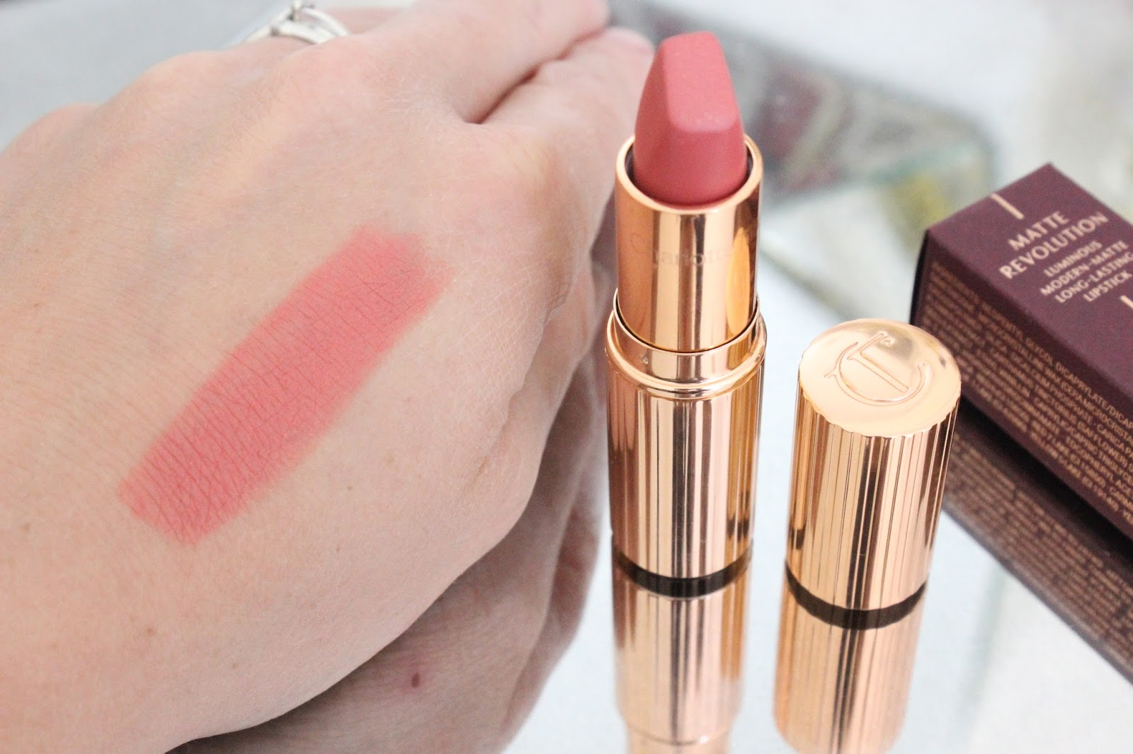 Charlotte Tilbury Matte Revolution Lipstick | Sexy Sienna