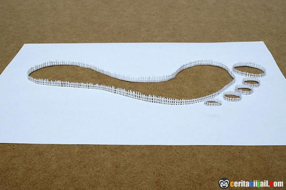 Karya Seni Mengagumkan Dari Secarik Kertas