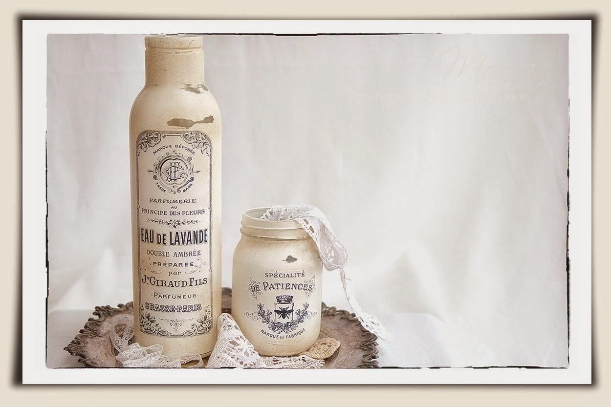 Annie Sloan Chalk Paint, Original, vintage bottles,