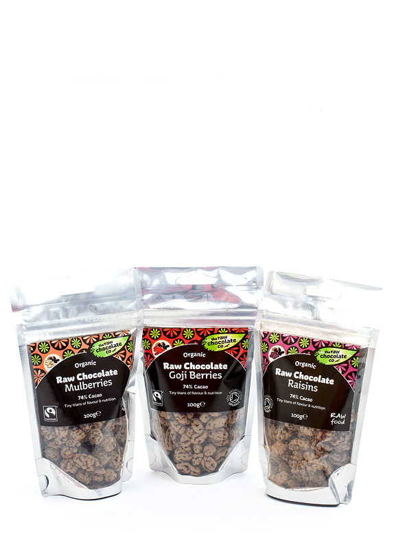 Raw chocolate Čokodlani paket front cel