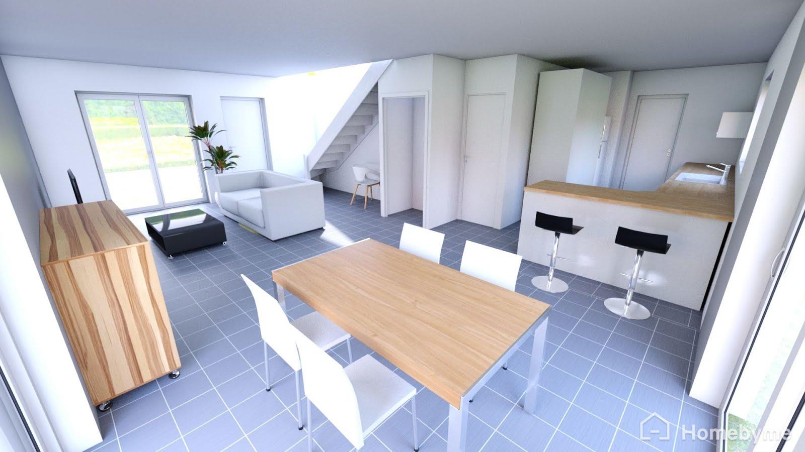 Notre projet de maison individuelle villad ale mouaz for Interieur maison en v