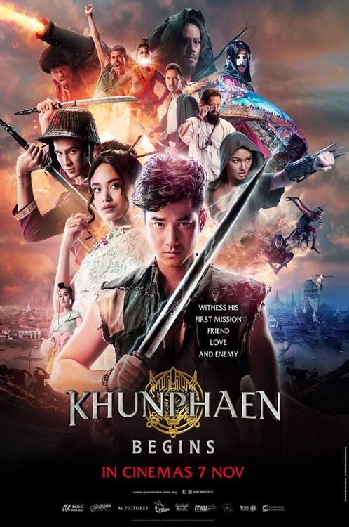 7 NOVEMBER  2019 :KHUN PHAEN BEGINS ( Thailand)