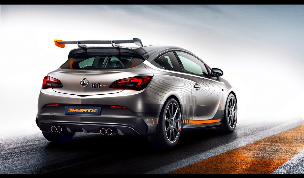 2015 Vauxhall Astra VXR Extreme Photo
