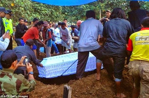 Drug convicts executed in Indonesia buried
