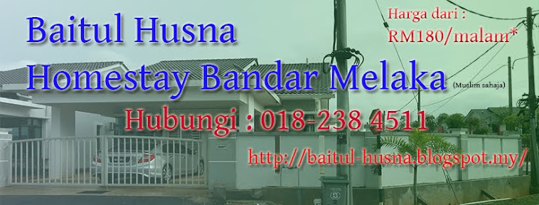 Baitul Husna Homestay Melaka