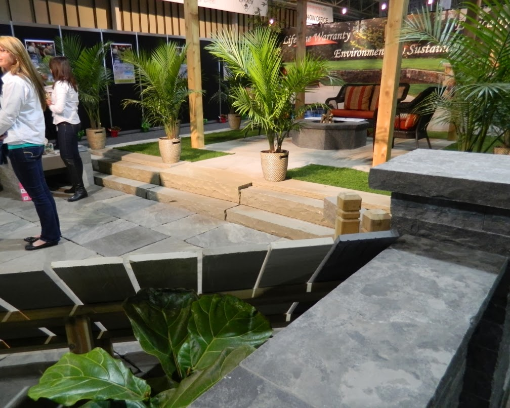 Landscape Ontario 2014 Congress interlocking paver company garden muses-a Toronto gardening blog