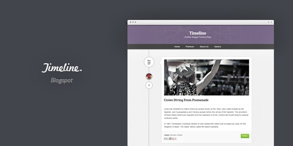 Timeline Blogger Templates Kaizentemplate Rebuild Another - Timeline blogger template