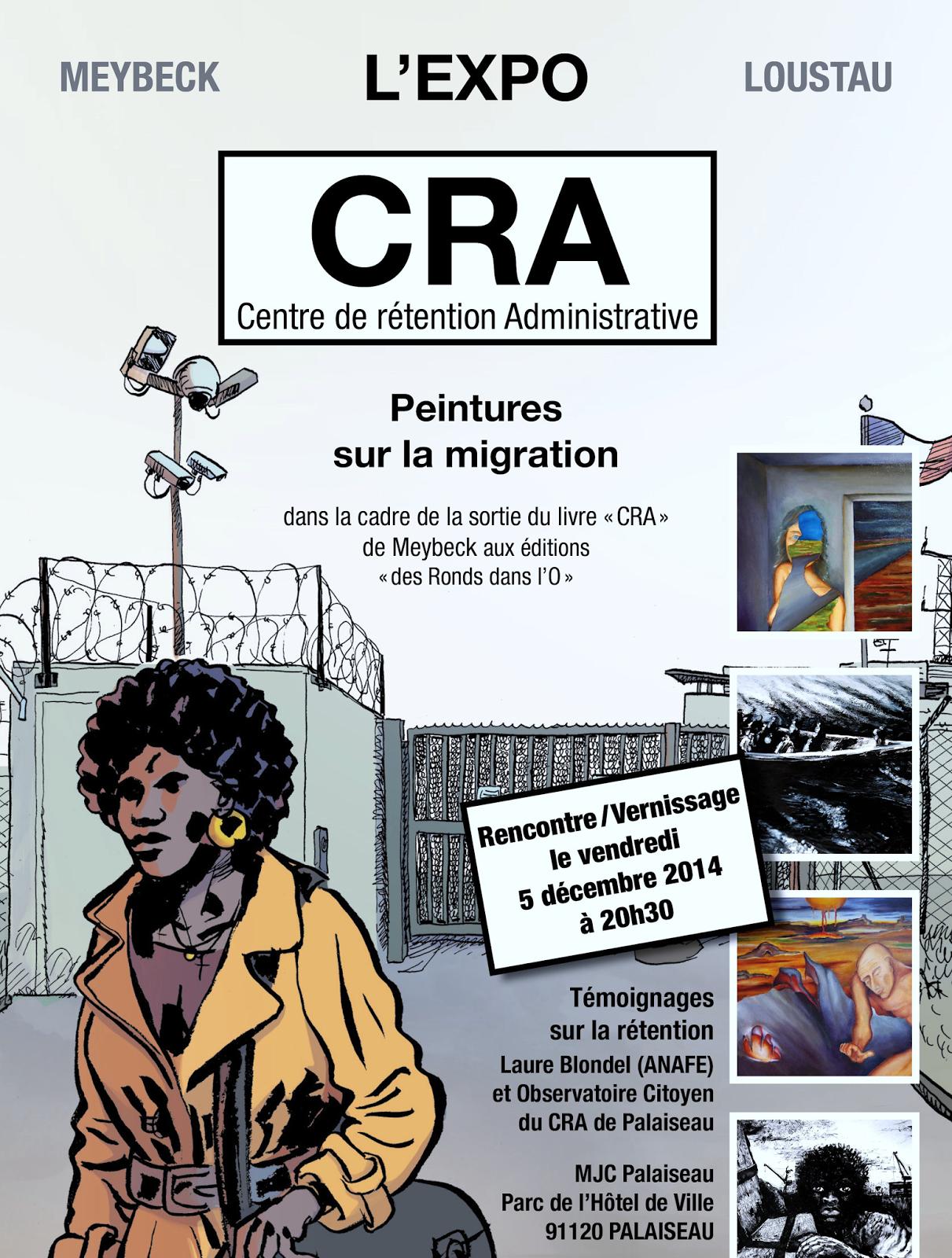 Rencontre signature vernissage d'exposition dans les MJC de Palaiseau et d'Igny (CRA, le blog de Jean-Benoît Meybeck)