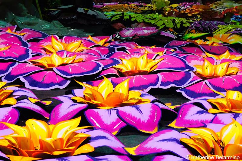 Float Flowers Mardi Gras World New Orleans