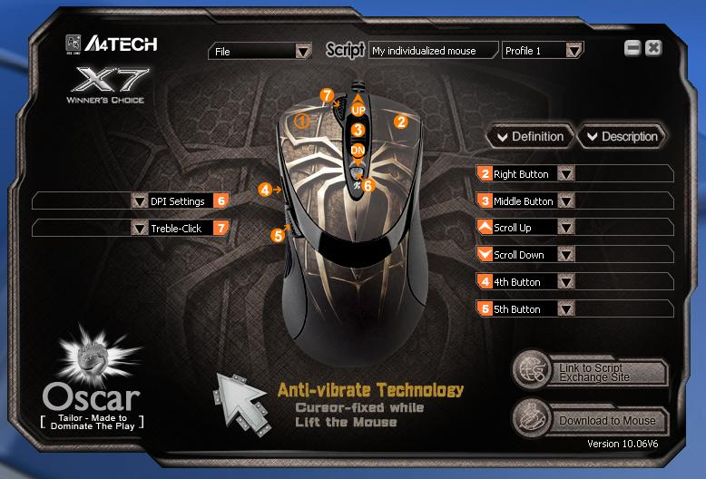 Setting Mouse Macro Tech Sabelt Mig Team Clan Board