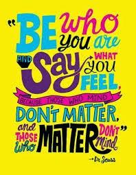 a bit of Seuss wisdom