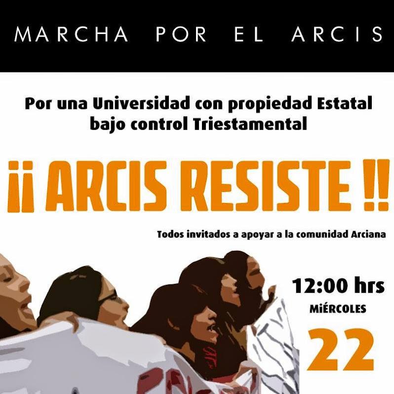 SANTIAGO CENTRO: MARCHA POR EL ARCIS