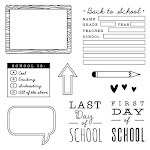 CTMH's August Stamp of the Month - School Year (S1708)