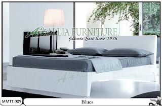 Tempat tidur Type Minimalis Modern Blues