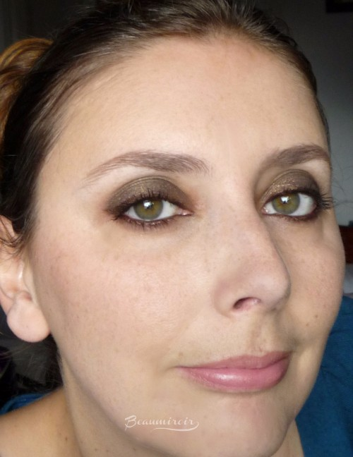 Charlotte Tilbury Nocturnal Cat Eyes To Hypnotise in The Huntress: worn on eyes, full face, fotd