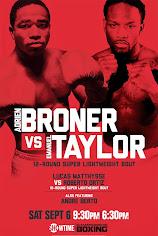 Who wins Broner vs Taylor?