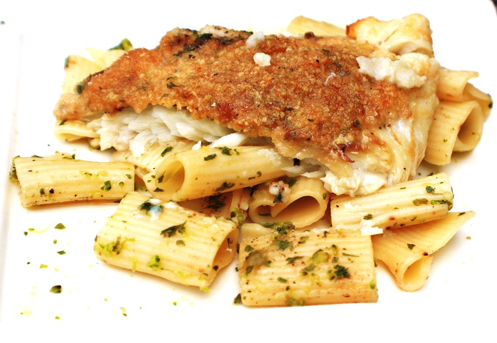 What's Cookin' Italian Style Cuisine: Italian Baked Crusted Flounder ...