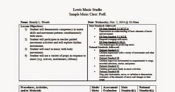 Woods Piano Studio Sample Music Classes At Lewis Music Studio