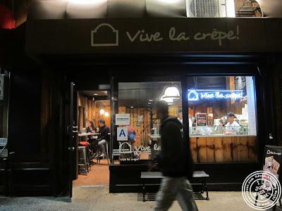 Image of Vive La Crepe in Greenwich Village, NYC, New York