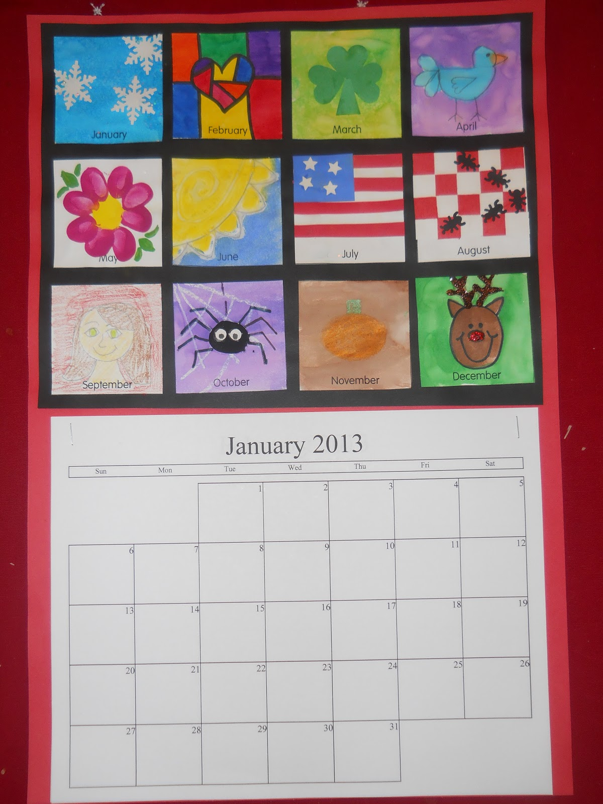 Calendar With Ideas : Mrs t s first grade class christmas calendar