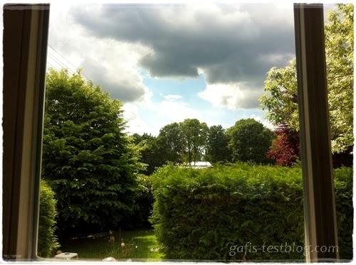 Schöner Blick aus dem Fenster