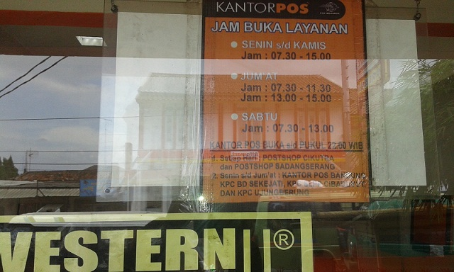 Teacherpreneur Mau Ke Kantor Pos Baca Ini Dulu Agen Kantor Pos Di Semarang Jam Buka Sampai Malam Jam 10