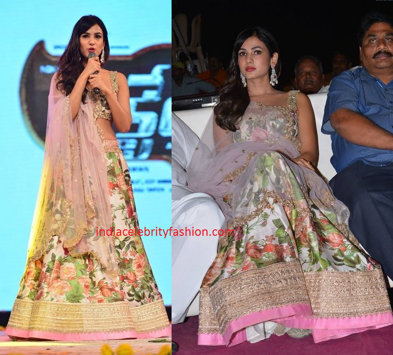 Sonal Chauhan in Anushree Reddy Lehenga