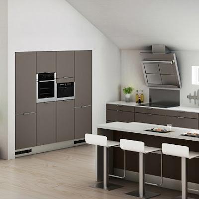Cmo tener una isla central en la cocina moderna for Islas para cocinas modernas