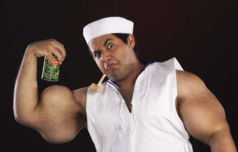 O Marinheiro Popeye do Egito!