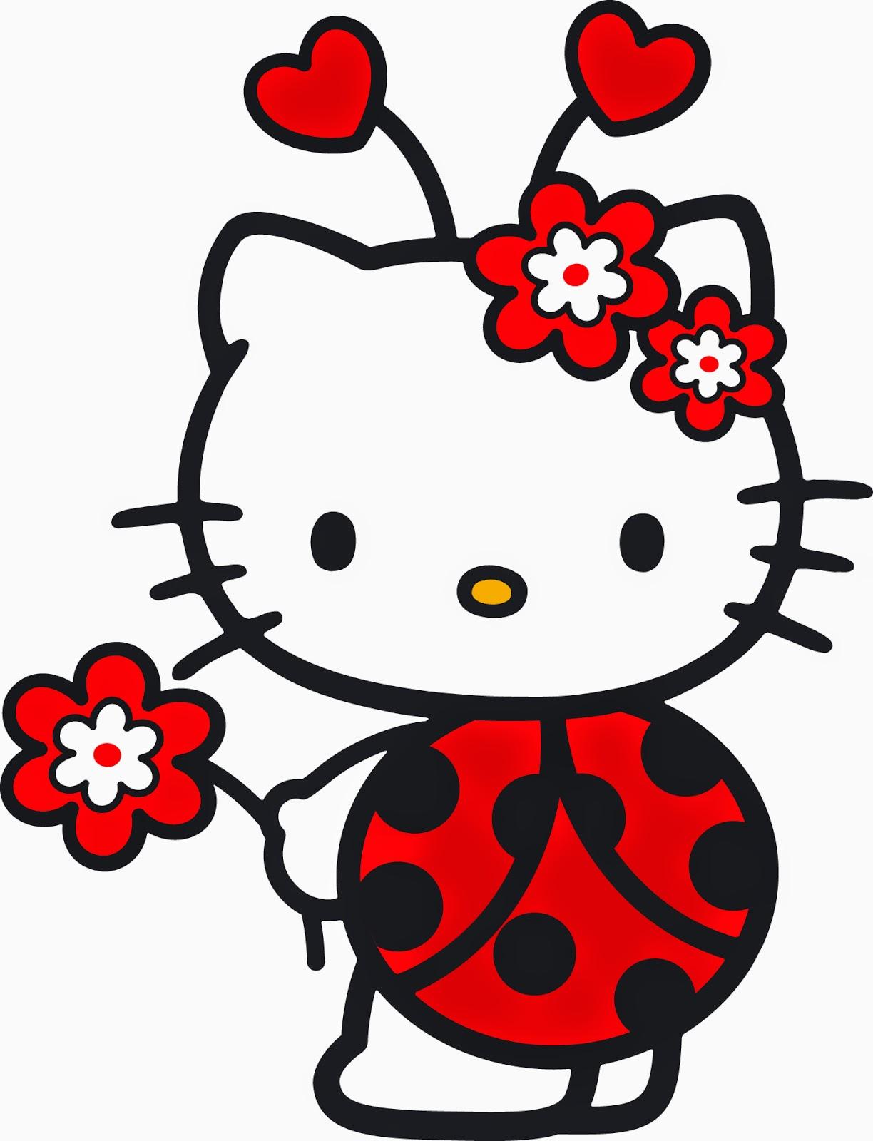 Gifs animados de Flores de Hello Kitty ~ Gifmania - Imagenes De Hello Kitty Con Flores