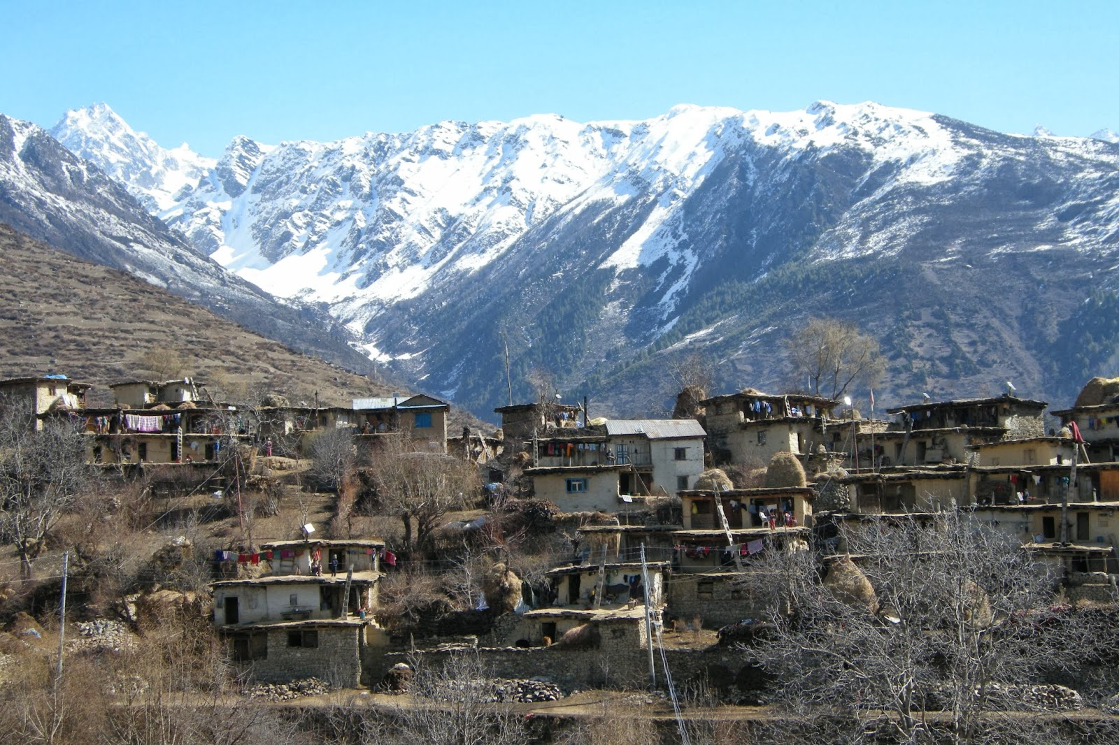 village around simikot
