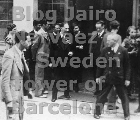 Visita del presidente de la Generalitat Sr. Lluís Companys, 1934