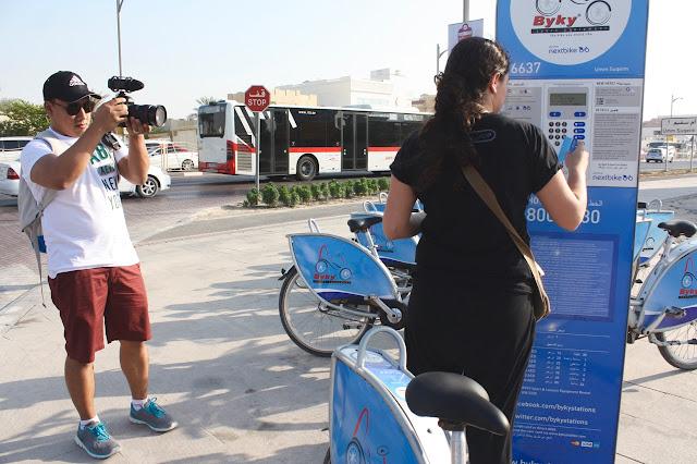 biking in Jumeirah Dubai