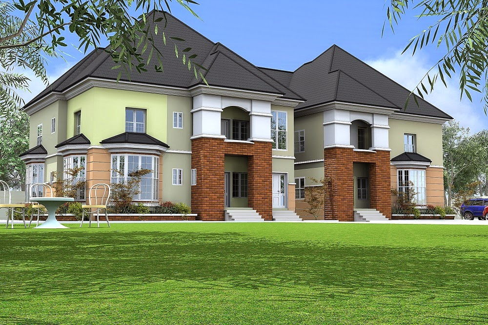 Architectural designs by blacklakehouse 5 bedroom duplex for 3 bedroom architectural designs