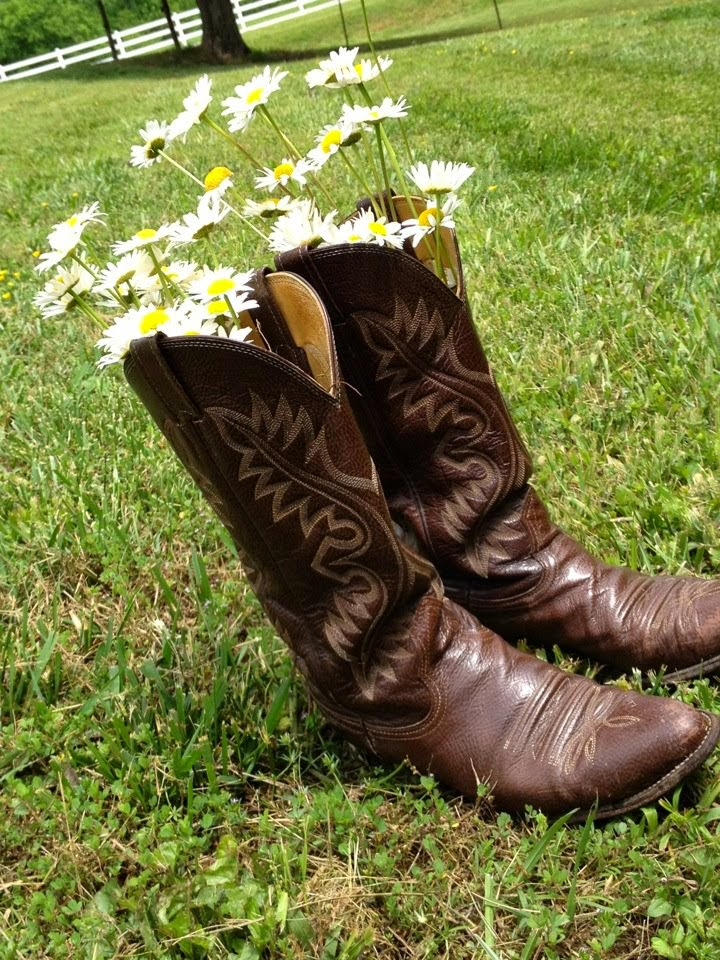 Boots and Wildflowers