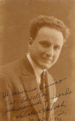 ITALIAN TENOR SALVATORE SALVATI (1885 - 1959) CD