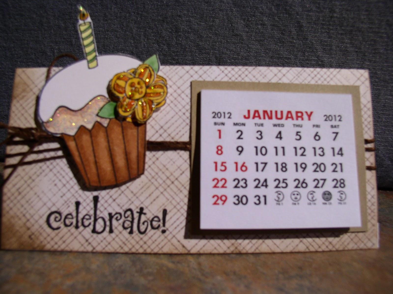 make a yearly calendar