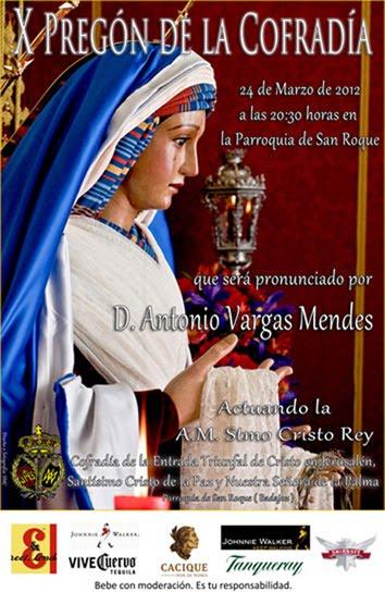 Cartel X Pregón de la Cofradía