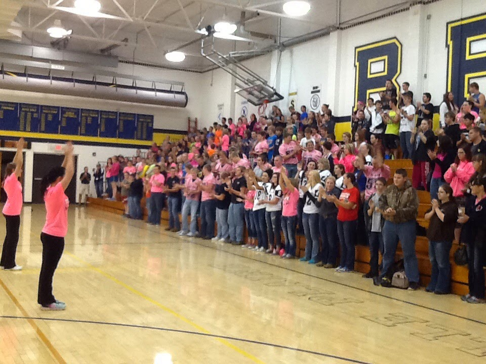 Pink Out Pep Rally!