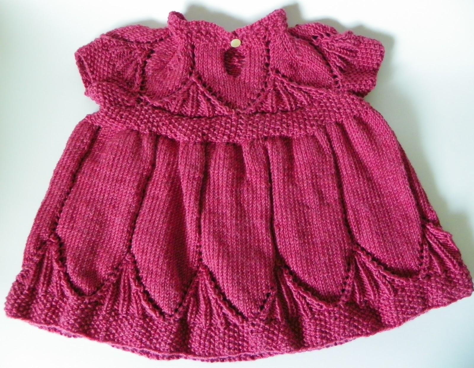 Clara Dress Knitting Pattern : I Made This!: Clara dress
