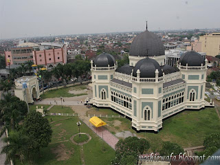 Masjid Raya Medan, Masjir Raya Al-Mashun, Masjid Raya Al-Ma'sum