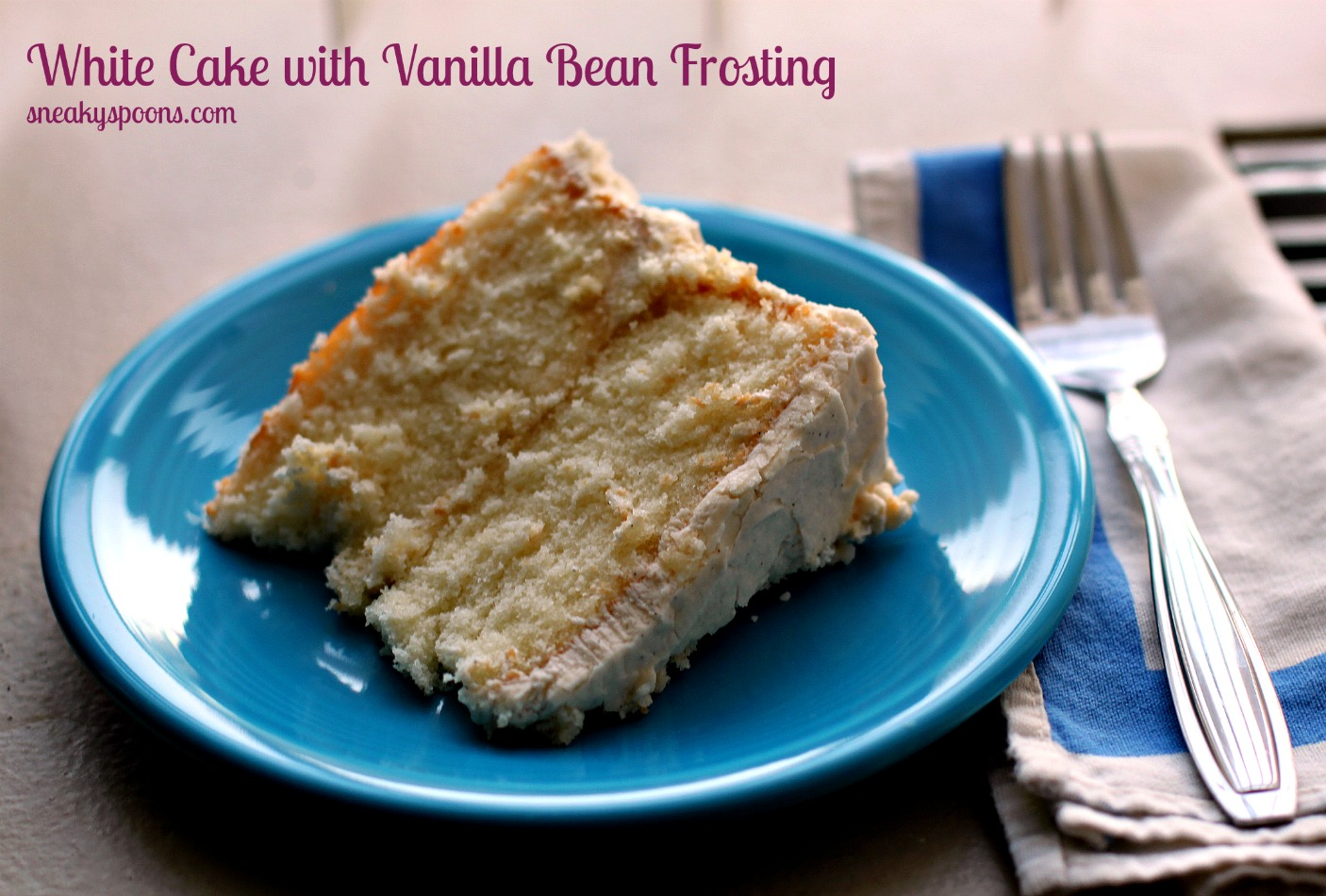 White Cake Frosting I Recipes — Dishmaps