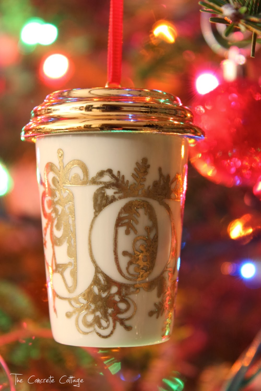 Drama christmas ornaments - Starbucks Diy Ornament