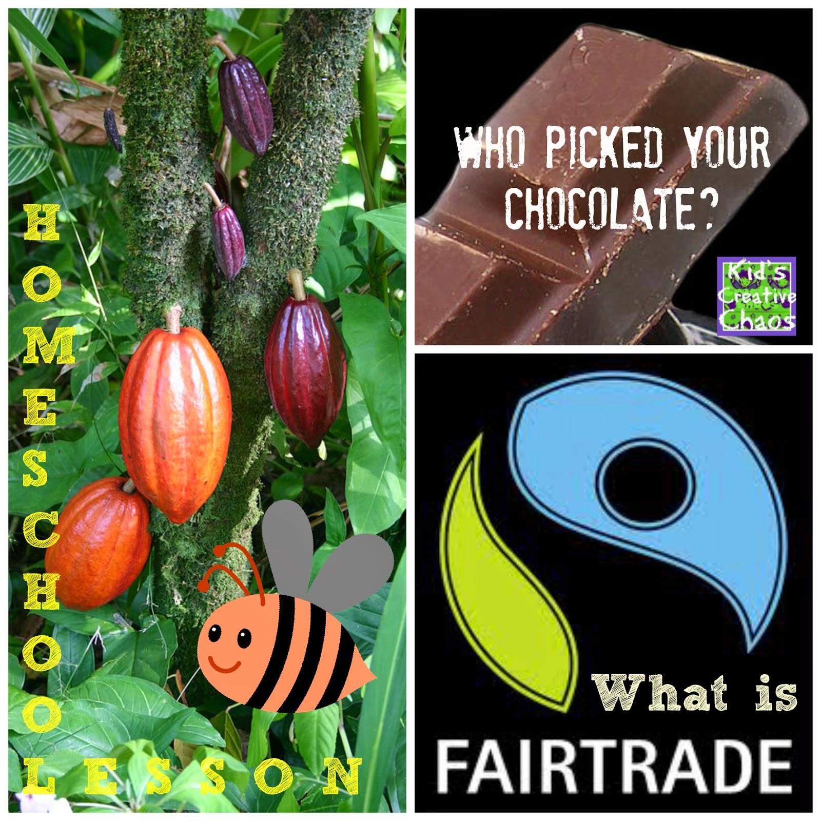 Fair Trade Chocolate Homeschool Lesson Online
