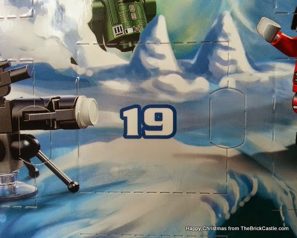 The LEGO Star Wars Advent Calendar Dec 19 window