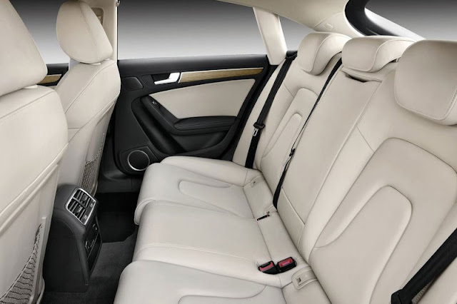 2012 Audi A5 Sportback Back Sit Interior