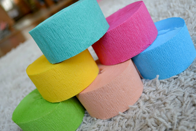 crepe paper from Birthday Express #cbias